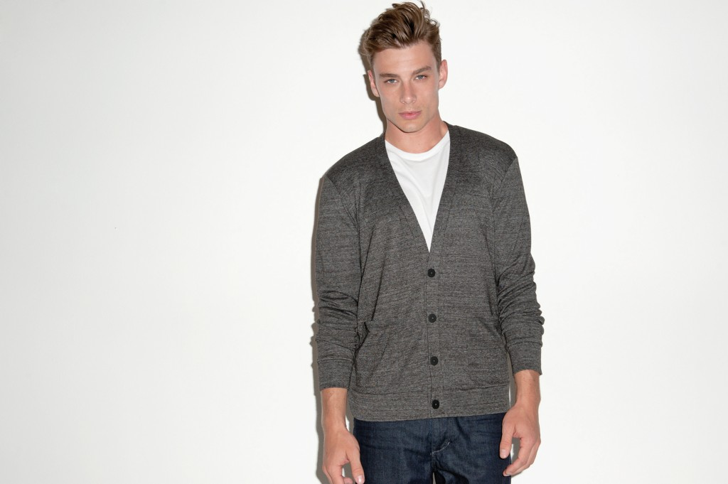 Canvas Button Up Cardigan