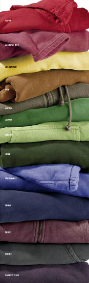 Authenti cPigment Fleece Colors
