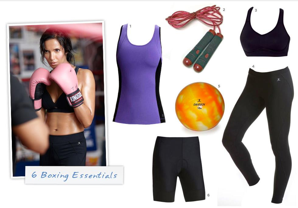 Danskin Boxing and Fitness Apparel