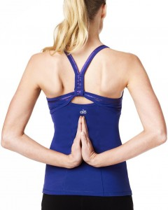 alo yoga racerback top for women
