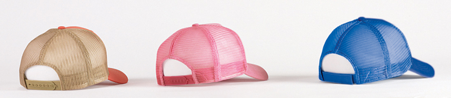 Big Accessories Fashion Color Trucker Hats
