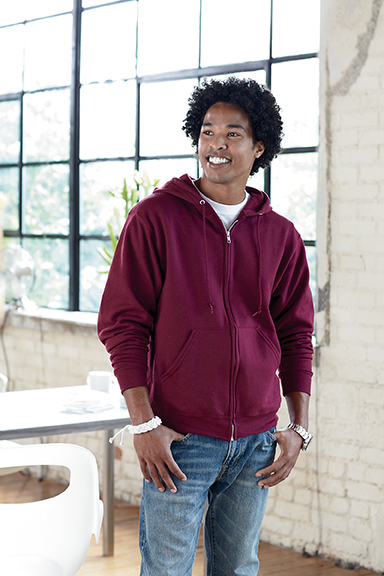 Fruit of the Loom Zip Up Sweatshirt