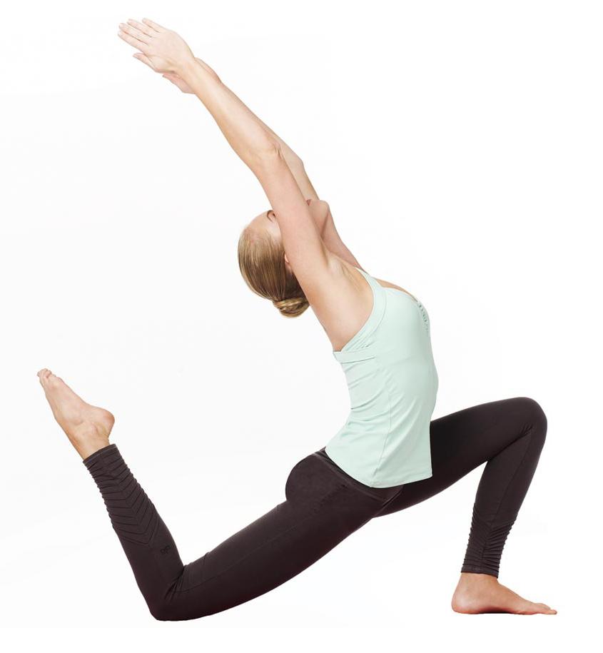 alo yoga pose